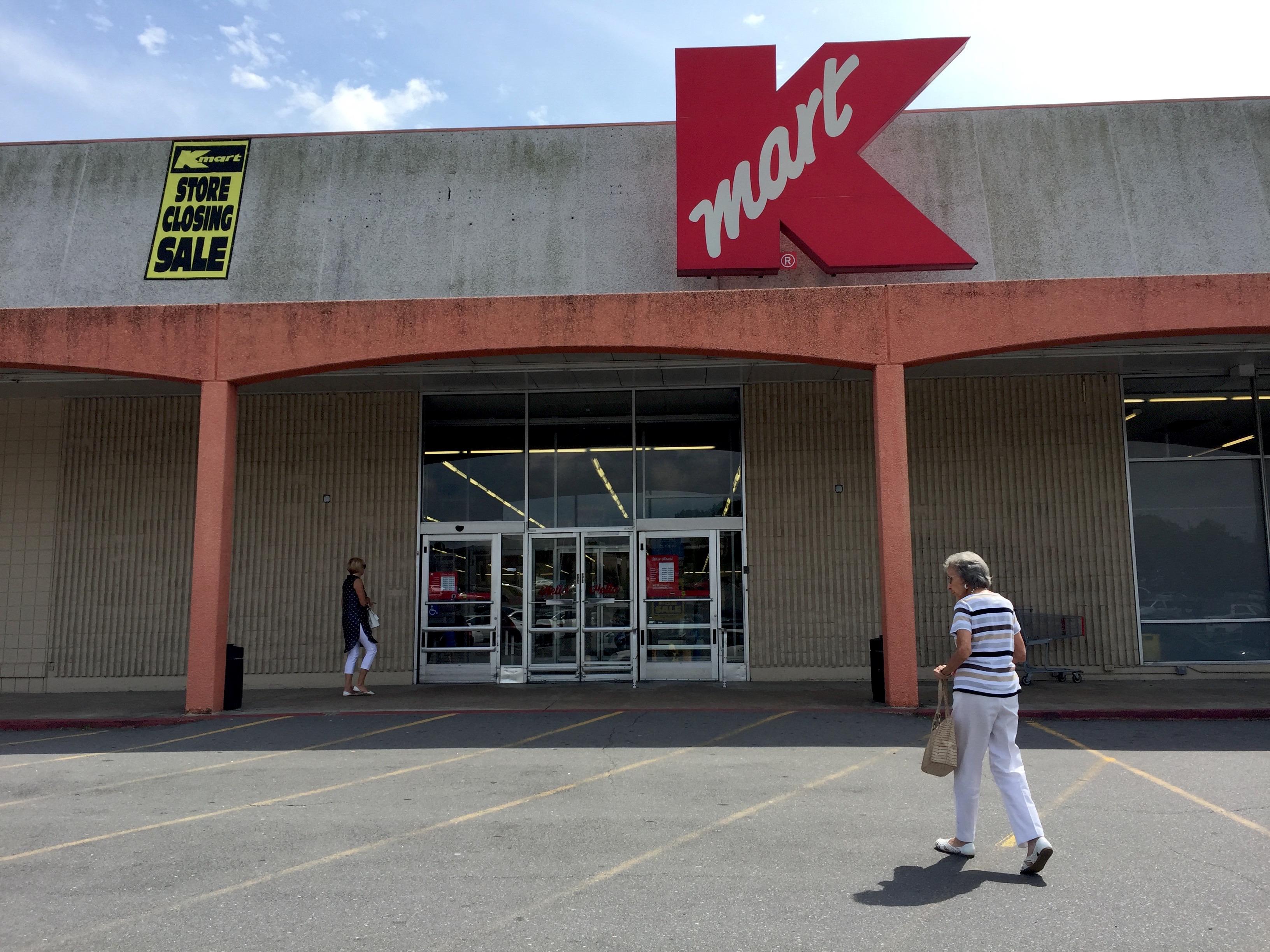 100410530bd Shoppers make their way inside the Kmart store at 10901 N. Rodney Parham  Road in west Little Rock. BRANDON RIDDLE Arkansas Online