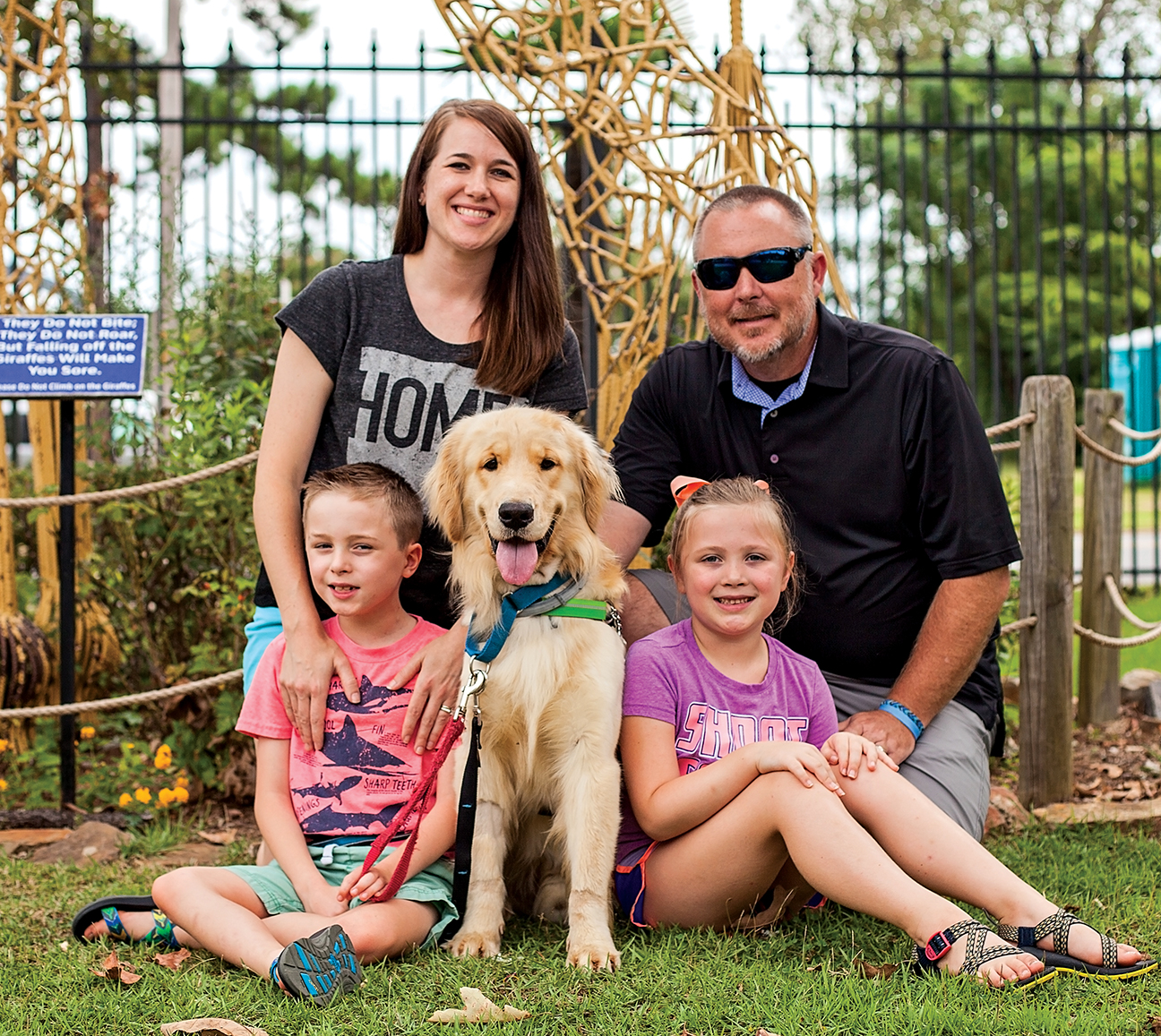 Ash Flat Family Receives Autism Service Dog