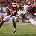 Arkansas defensive back Ryan Pulley (11) announced on social media that he is out for the season aft...