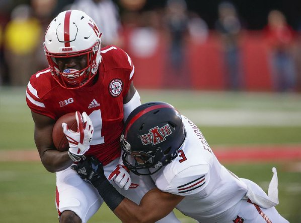 Nebraska rides high-scoring offense to 43-36 win over Arkansas State