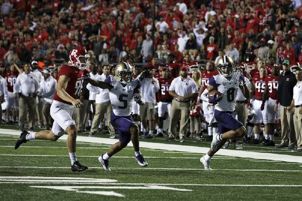 Pettis scores and sets up Washington teammates in win over Rutgers