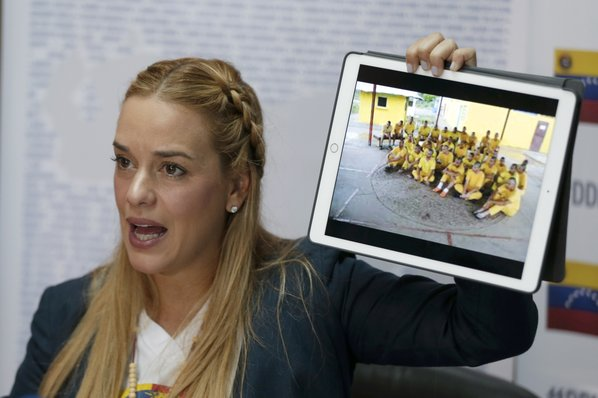 Venezuelan activist Lilian Tintori says government is harassing her over cash