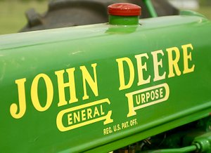 Photo by Randy Moll John Deere tractors will be the featured tractors at the Tired Iron of the Ozarks fall show, which begins on Friday and runs through Sunday.