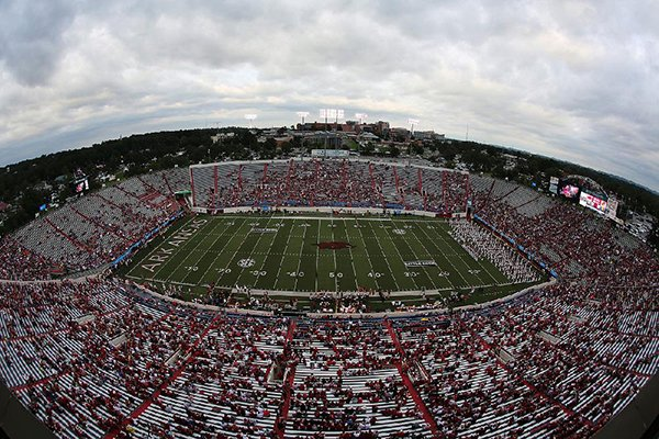 war-memorial-stadium-is-shown-during-pregame-ceremonies-on-thursday-aug-31-2017-prior-to-a-game-between-arkansas-and-florida-am-an-announced-attendance-of-36055-was-at-the-game
