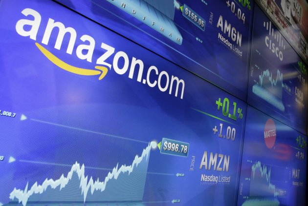 file-in-this-tuesday-may-30-2017-file-photo-the-amazon-logo-is-displayed-at-the-nasdaq-marketsite-in-new-yorks-times-square-amazon-announced-thursday-sept-7-that-it-has-opened-the-search-for-a-second-headquarters-promising-to-spend-more-than-5-billion-on-the-opening-ap-photorichard-drew-file
