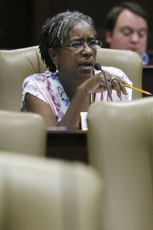 Sen. Stephanie Flowers, D-Pine Bluff, is shown in this 2014 file photo.