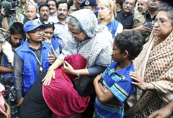 European Union  demands Myanmar halt violence on Rohingya