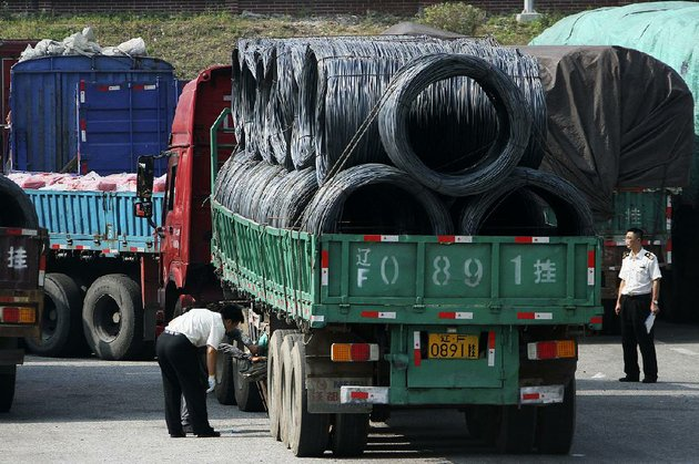 chinese-customs-officials-inspect-trucks-loaded-with-goods-headed-to-and-from-north-korea-on-monday-in-dandong-in-northeastern-china