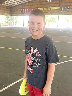 COURTESY PHOTO Beau Lovell has Type 1 diabetes and hopes one day there will be a cure for the disease. His mom, Stephanie, coordinates Saturday's Farmington Walk To Cure Diabetes.