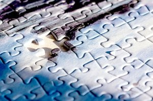 Doing jigsaw and crossword puzzles can keep the brain sharp.