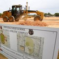 Work continues Tuesday on Springdale High School's Bulldog Athletic Complex south of the high school...