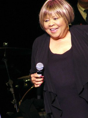 Mavis Staples, civil rights activist and rhythm and blues and gospel singer