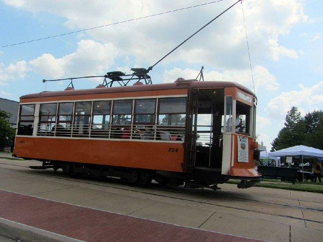 visitors-to-fort-smith-can-ride-on-a-vintage-streetcar-from-the-local-trolley-museum