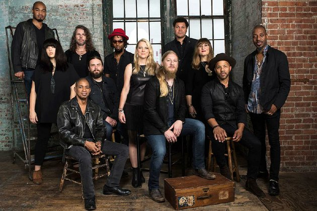 the-tedeschi-trucks-band-led-by-susan-tedeschi-center-standing-and-her-husband-derek-trucks-center-seated-will-play-at-robinson-center-performance-hall-in-little-rock-on-sunday