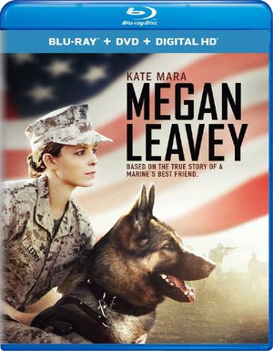 Blu-ray case for Megan Leavey