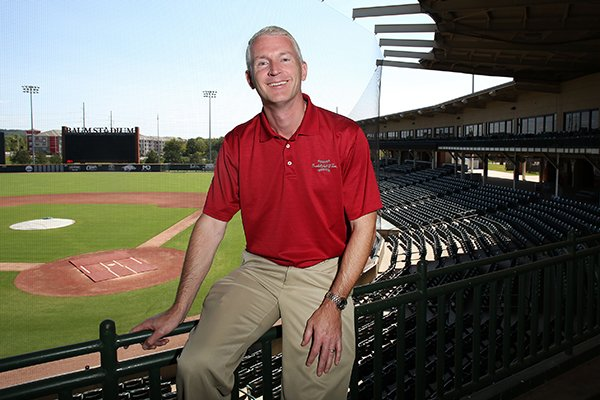 Brett Dolan is the new play-by-play voice for TV games produced by the Razorback Sports Network. He previously worked in Houston, where he spent seven seasons on the Astros' radio network.