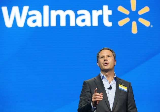 Wal mart to build new headquarters site set near downtown bentonville doug mcmillon wal mart president and chief exeuctive malvernweather Gallery