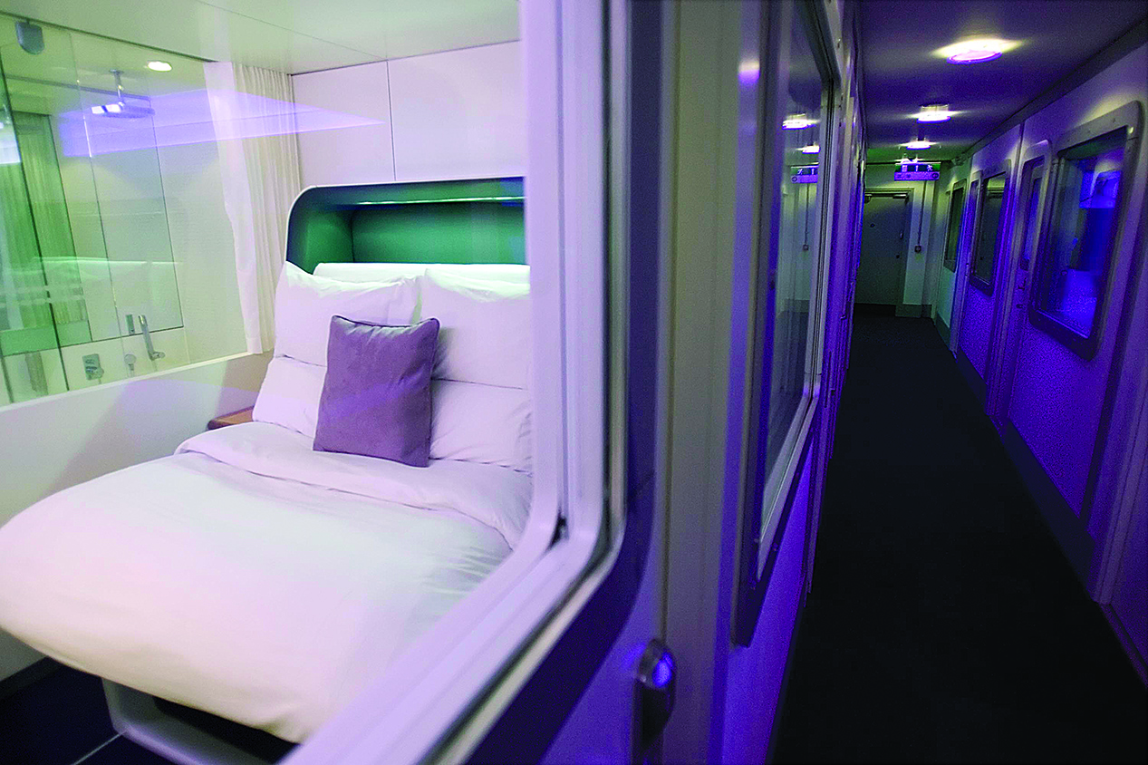 The Premium Cabin Of The New Japanese Style Yotel At