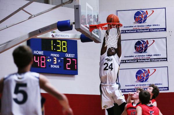 Jordan-dunking