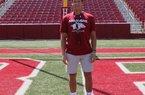 Kicker Matthew Phillips has strong Arkansas ties.