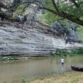 Bluffs are numerous along the War Eagle River as it meanders through forest and fields. Alan Bland o...