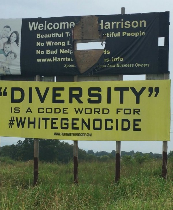 contentious signs jettisoned in north arkansas city  one