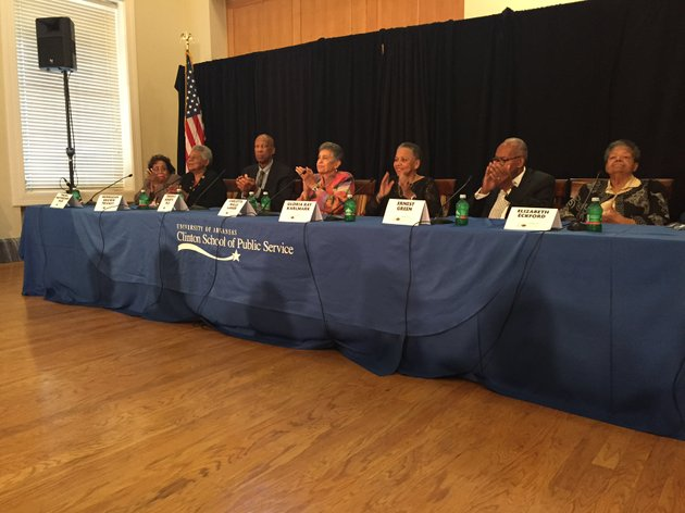 the-eight-surviving-members-of-the-little-rock-nine-spoke-at-a-panel-at-the-clinton-school-for-public-service-on-friday-sept-22-2017