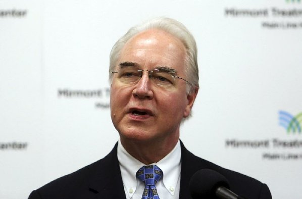 Tom Price Says He'll Stop Use of Private Jets Until After Review