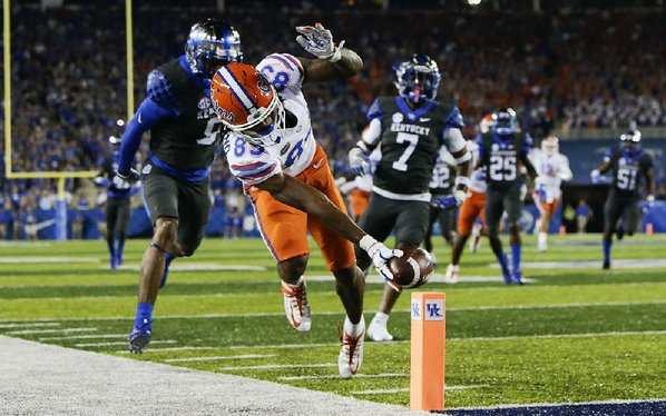 No 20 Florida rallies past Kentucky 28-27 to extend streak