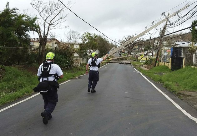 workers-in-eastern-puerto-rico-use-a-hot-stick-to-assess-power-lines-friday-in-this-photo-provided-by-the-virginia-task-force-1-rescue-group