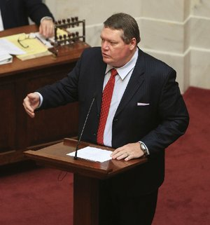 Sen. Bryan King, R-Green Forest,  is shown in this file photo.