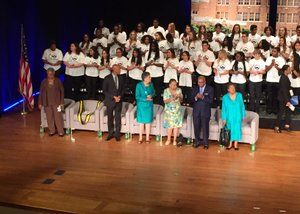 PHOTOS: Bill Clinton, Little Rock Nine reflect on 60th anniversary of Central High School's desegregation
