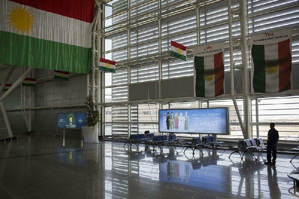Baghdad halts global  flights to Kurdistan over referendum