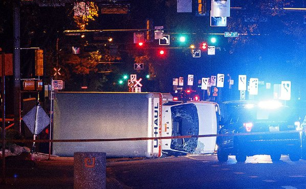 Terror suspect drives U-Haul into crowd in Edmonton: Canada Police