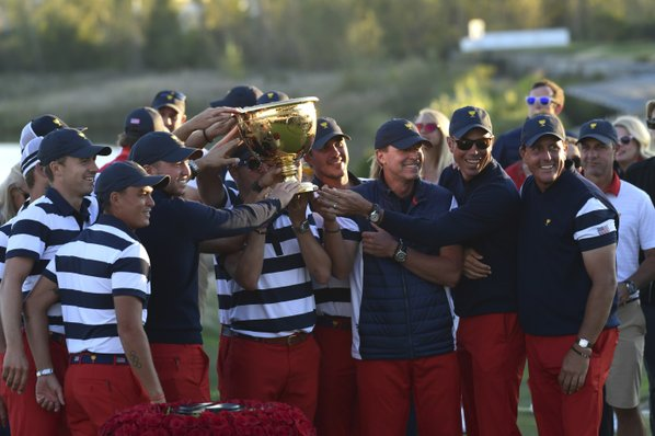 Presidents Cup 2017: Jordan Spieth attributes 'trust' to recent USA  success