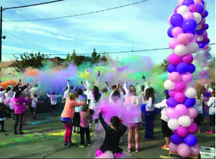 Hundreds run: Large crowds have participated in the #teamcorriecancerfoundation 5/K fun run/walk in El Dorado, held to raise funds to benefit citizens of Union County suffering with cancer. This year's fifth color run will begin at 8 a.m. Saturday at the intersection of Jefferson and Elm streets in downtown El Dorado.