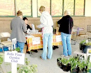 Photo submitted Shoppers at last year's Fall Plant Sale.