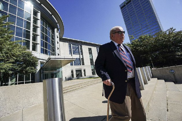 joseph-boeckmann-who-resigned-in-may-2016-as-a-district-judge-leaves-the-federal-courthouse-in-little-rock-with-the-aid-of-a-cane-thursday-after-his-guilty-plea-he-faces-sentencing-in-about-three-months-and-his-attorney-said-boeckmann-could-offer-evidence-on-his-age-and-health-to-seek-a-lighter-sentence