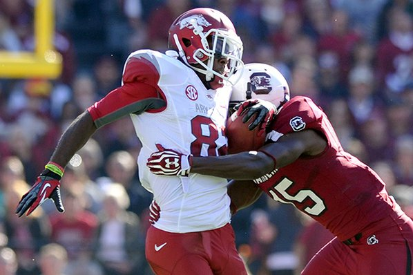 Razorbacks Blasted by Gamecocks, 48-22