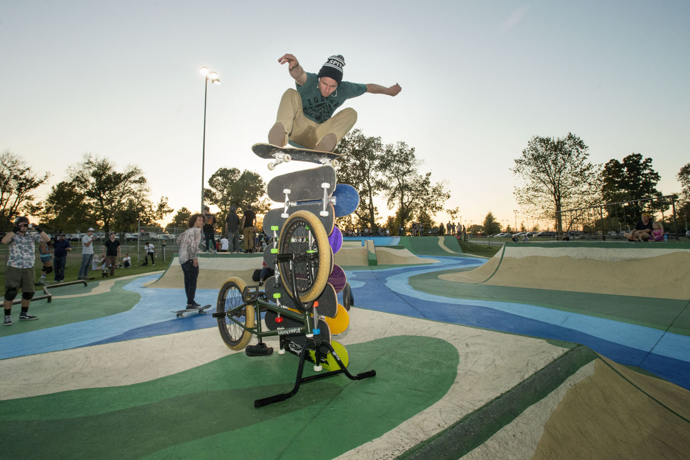 Collaboration ignites skate park beautification project