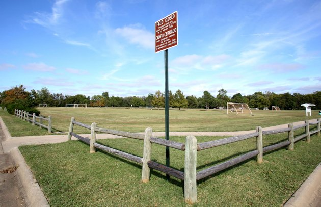 lewis-soccer-fields-in-fayetteville-is-one-of-two-parcels-the-university-of-arkansas-is-selling-the-lease-between-the-city-and-the-university-is-set-to-expire-in-2018-university-officials-hope-to-eventually-sell-the-27-acres-at-lewis-soccer-fields-appraised-at-41-million-youth-soccer-programs-there-will-move-to-kessler-mountain-regional-park