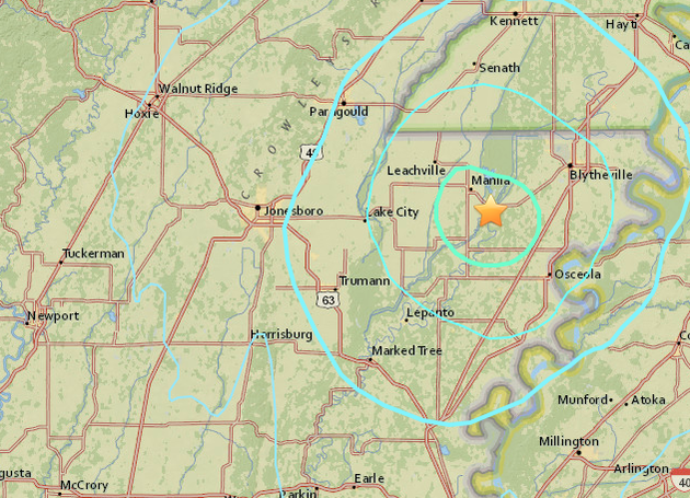 this-screenshot-from-the-us-geological-survey-website-shows-the-epicenter-of-a-small-earthquake-that-rattled-part-of-northeast-arkansas-on-sunday-morning
