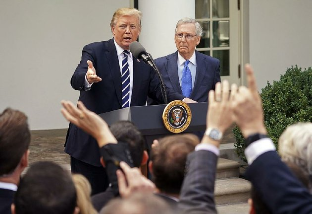 president-donald-trump-and-senate-majority-leader-mitch-mcconnell-speak-to-reporters-monday-in-the-rose-garden-of-the-white-house