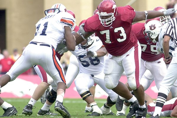 arkansas-offensive-lineman-shawn-andrews-73-makes-a-block-during-a-game-against-auburn-on-saturday-oct-11-2003-in-fayetteville