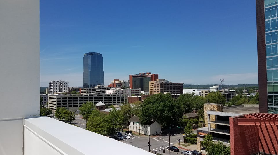 The View From The Roof At Hilton Garden Innu0027s New Location In Downtown Little  Rock. Photo Courtesy Of Hilton Garden Inn.