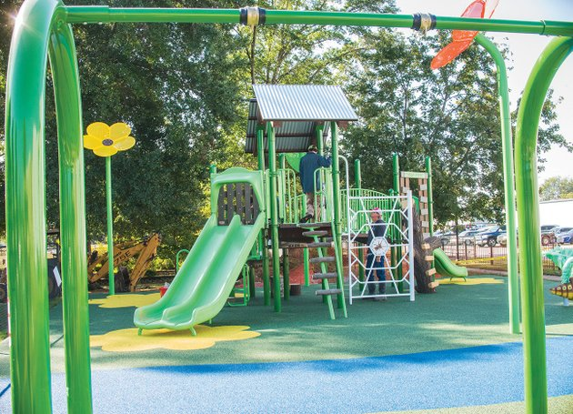 the-new-playground-equipment-at-spring-park-is-officially-ready-for-use-slides-swings-climbing-equipment-and-a-dragonfly-teeter-totter-are-a-few-of-the-items-included-in-the-new-set