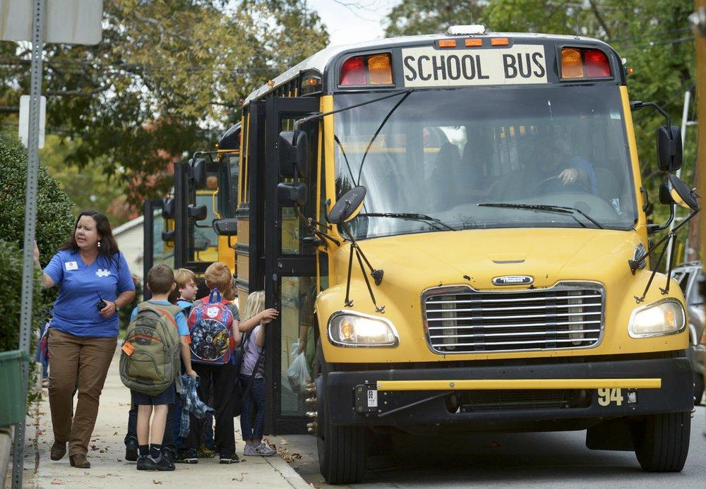 Springdale School District seeks more bus drivers