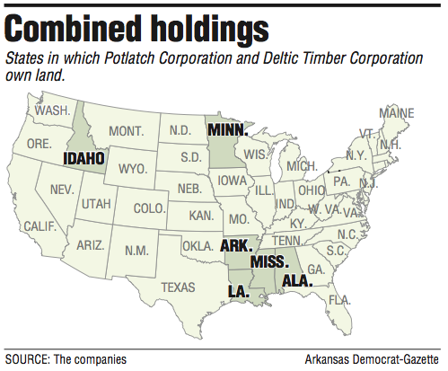 map-showing-states-in-which-potlatch-corporation-and-deltic-timber-corporation-own-land