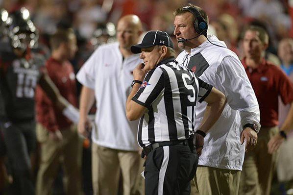 Bret Bielema: Austin Allen is 'progressing nicely' ahead of Ole Miss game