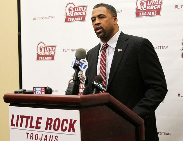 ualr-mens-basketball-coach-wes-flanigan-said-the-trojans-have-worked-hard-in-the-offseason-after-going-15-17-last-season-we-let-some-things-slip-that-are-a-part-of-the-process-of-winning-games-he-said